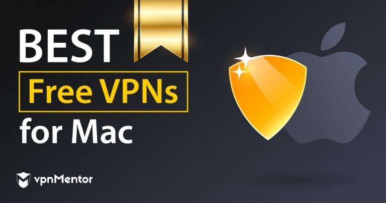 image with the apple logo presenting the best VPNs for macOS