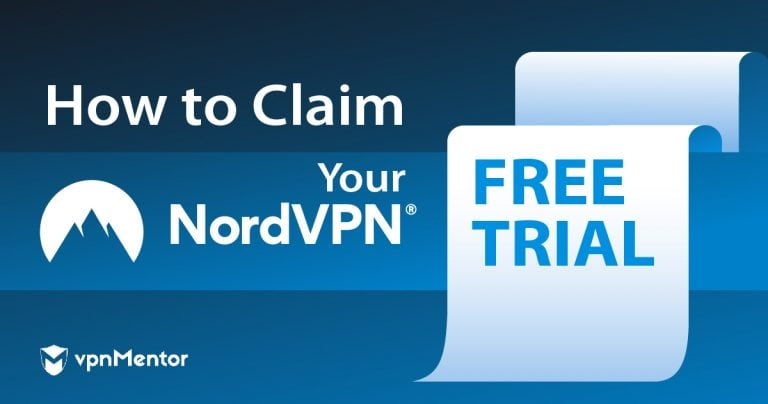 Free trial for NordVPN